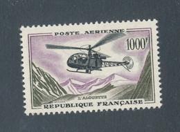 FRANCE - POSTE AERIENNE N° 37 NEUF** SANS CHARNIERE - COTE : 72€ - 1957/59 - 1927-1959 Ungebraucht