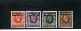 MAROC 1935-7 * - Bureaux Au Maroc / Tanger (...-1958)