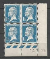 Coins Datés De France Neuf *  N 179  Année 1925  Charnière En Haut - ....-1929