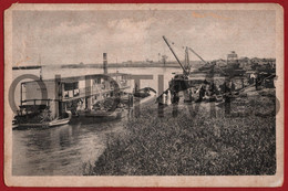 """MOCAMBIQUE - NYASALAND - RAILWAY HEAD FROM CHINDIO TO BLANTYRE - STEAM BOAT """"DRESDEN"""" - 1920 PC - Mozambico"""