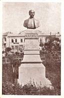 BUZAU : STATUIA Lui NICU CONSTANTINESCU / FOST PRIMAR - ATELIERELE MARVAN / BUCURESTI ~ 1920 - '925 - RRR !!! (ah416) - Roumanie