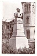 BUZAU : STATUIA Lui NICU CONSTANTINESCU / FOST PRIMAR - ATELIERELE MARVAN / BUCURESTI ~ 1920 - '925 - RRR !!! (ah417) - Roumanie