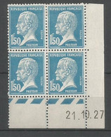 Coins Datés De France Neuf *  N 181  Année 1927  Charnière En Haut - ....-1929