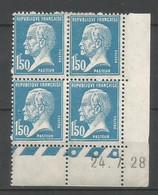 Coins Datés De France Neuf *  N 181  Année 1928  Charnière En Haut - ....-1929