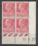 Coins Datés De France Neuf *  N 243  Année 1927  Charnière En Haut - ....-1929