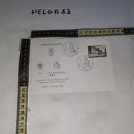 FB9379 GAETA 1989 TIMBRO ANNULLO VISITA PAPA GIOVANNI PAOLO II - 1981-90: Storia Postale