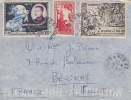 Enveloppe   LAOS   1956 - Laos