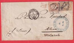 N°21 23 GC 2706 NUITS COTE D'OR POUR ALTENA ALLEMAGNE PRUSSE WESTPHALIE WESTPHALIA 1866 - 1849-1876: Klassik