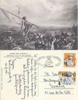 "AK  ""Krieg Dem Kriege (Jan Ten Kate)""  Olympia Frankatur           1944 - Storia Postale"