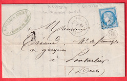 N°60 GC 3120 REVIGNY MEUSE OR LA %AISON DU VAL PONTARLIER DOUBS - 1849-1876: Klassik