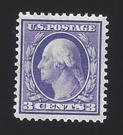 US #333 1908-09 Violet Perf 12 Wmk 191 Mint NG VF SCV $30 - Unused Stamps