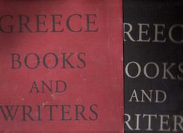 Collective - Greece Books And Writers - 2001  Art, History, Illustrated, Literature - Dust Jacket - Non Classificati