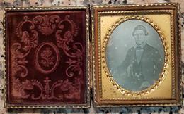 Daguerréotype Jeune Homme * Daguerreótipo * Daguerreotype - Old (before 1900)