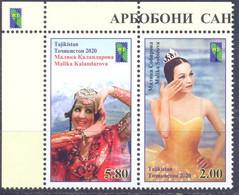 2020. Tajikistan, RCC, Art Worker, 2v Perforated, Mint/** - Tadschikistan