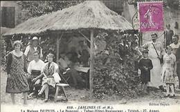 Jablines (  683 H En Seine Et Marne )   La Maison Dupuis Le Bosquet Tabac Hôtel - Restaurant TEL 27  CPA  1933 - Alberghi & Ristoranti