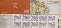 Viet Nam Vietnam Booklet 2019 : Vietnamese Architecture (Ms1116) - Vietnam