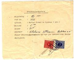 47831 - Timbres Fiscaux - Briefe U. Dokumente