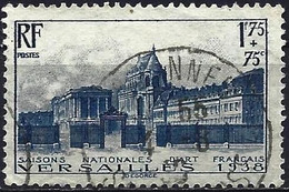 France 1938 - Mi 422 - YT 379 ( Castel Of Versailles ) - Usati