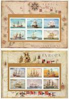 ANTIGUA - N°2011/6+2066/71 ** (1996) Bateaux à Voile - Antigua And Barbuda (1981-...)