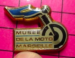 1015a Pin's Pins / Beau Et Rare : Thème MOTOS / MUSEE DE LA MOTO MARSEILLE - Moto
