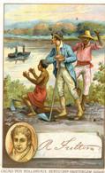 Chromo - Cacao Pur Hollandais Bensdorp Amsterdam - Fulton - 94 - Le Premier Vapeur Sur L'Hudson - Andere
