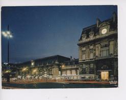 Bordeaux - La Gare (théojac N°197) Vue De Nuit Autobus - Bordeaux
