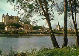 49 - Saumur - Le Château Et La Loire - Flamme Postale De Saumur - CPM - Voir Scans Recto-Verso - Saumur