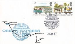 Eisenbahnbeleg (aa8467) - Treni