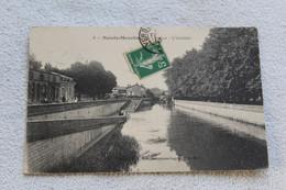 Cpa 1913, Sainte Menehould, Le Quai, L'Herbette, Marne 51 - Sainte-Menehould