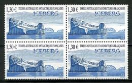 TAAF 2004 N° 387 ** Bloc De 4 Neuf  MNH Superbe Cote 20.80 € + Iceberg Paysage Landscape - Nuevos