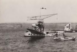 CPA - Hydravion Savoia Marchetti S 66 - Compagnie Ala Littoria - Aéroport Marseille Marignane - 1919-1938: Between Wars