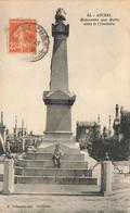 AUCHEL : MONUMENT AUX MORTS DANS LE CIMETIERE - Other Municipalities