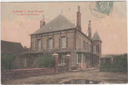 PLEURS ANCIEN DOMAINE DU BARON DE FERUSSAC 1906 TBE - Andere Gemeenten