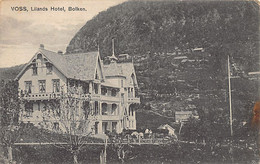 Norway - VOSS - Lilands Hotel, Bolken - Publ. Hulda Bentzens - Norvegia