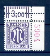 BIZONE 1945 Nr 17aB R4 Postfrisch (409596) - American/British Zone
