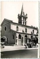 CPSM Dentelée 10.5 X 15 Isère SAINT MARCELLIN  L'Eglise  Clocher Roman (Monument Historique) - Saint-Marcellin