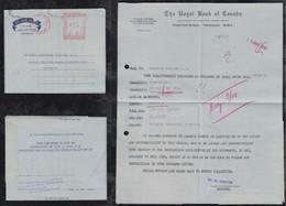 Trinidad 1958 Meter Aerogramme Air Letter PORT OF SPAIN To GOLDKRONACH Germany Royal Bank Of Canada - Trinidad & Tobago (...-1961)