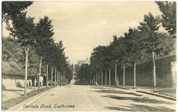 CPA Angleterre Eastbourne Carliste Road Rare - Eastbourne