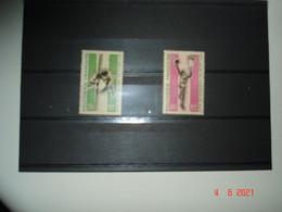 POLYNESIE FRANCAISE  ANNEE 1966  NEUFS  N° YVERT 43 ET 44    2eme JEUX DU PACIFIQUE SUD A NOUMEA - Collections (without Album)