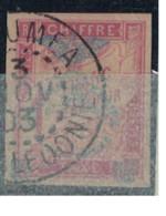 NOUVELLE CALEDONIE          N° YVERT  :  TAXE 14    OBLITERE      ( OB 9/04 ) - Impuestos