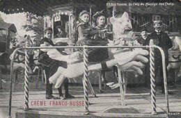 FETE FORAINE  Un Coin Du Manège Des Chats RV Pub CREME FRANCO RUSSE  O Drouet - Games & Toys