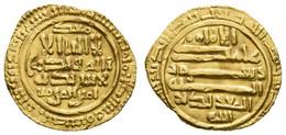 Al-Muizz-li-dinillah, 341-365 AH = 953-975, AV Dinar, Sijilmasa, Beschnitten, 4,02 G, Nicol 289, Ss+, Ex Peus, Frankfurt - Other - Africa