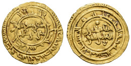 Az-Zahir-li-aziz-dinillah, 411-427 AH = 1021-1036, AV Dinar, 415 AH = 1024, Al-Mansuriya, Beschnitten, 3,96 G, Nicol 154 - Other - Africa