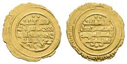 Al-Mustansir-billah, 427-487 AH = 1036-1094, AV ¼ Dinar, 438 AH = 1046, Siqilliya (Palermo), 1,01 G, Nicol 1765, Typ P1, - Other - Africa