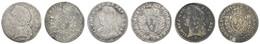 Louis XV., 1715-1774, 1/20 Ecu, 1728 K, 1743 (?), 1750 W, Duplessy 1679, GadR. 284, KM 117,40, S-ss - Unclassified