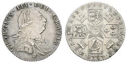 George III., 1760-1820, 1787, 6 Pence, KM 606, Vz - Unclassified