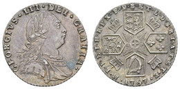 George III., 1760-1820, 6 Pence, 1787, KM 606, Vz - Unclassified
