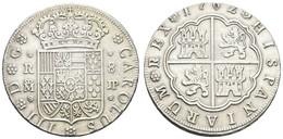 Carlos III., 1759-1788, 8 Reales, 1762 MJP, KM 399.1, Ss-vz - Unclassified