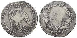 10 Livres, 1810, Piastre Decaen, 26,61 G, KM 1, S - Unclassified