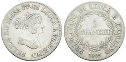 Republik 1805-1814, 5 Franchi, 1805, KM 24.3, S-ss - Unclassified